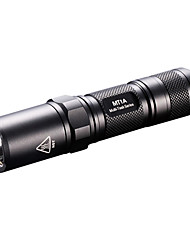 cheap -Nitecore MT1A LED Flashlights / Torch LED 140 lm 4 Mode Cree Impact Resistant Compact Size Super Light Tactical Camping/Hiking/Caving