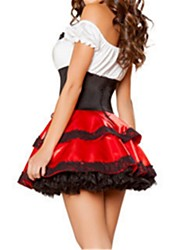 Princess Fairytale Maid Costumes One Piece Dress Adults' Halloween Festival / Holiday Halloween Costumes Vintage