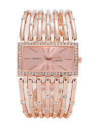 cheap -Women's Fashion Watch Wrist watch Quartz Alloy Band Luxury Casual Elegant Cool Silver Gold Rose Gold