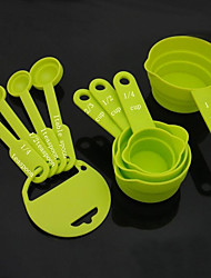 cheap -8Piece/Set Measuring Tools For Cooking Utensils ABS High Quality