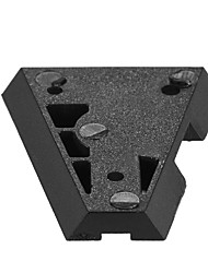 andoer v-mount v-lock Adapter-Stecker für V-Mount Stromversorgung Batterie für dslr Videokameras