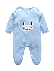 cheap -Baby Unisex Solid Colored Stripe One-Pieces