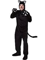 cheap -Wolf Cosplay Costume Adults' Halloween Festival / Holiday Halloween Costumes Fashion Vintage