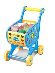 Brinquedos de Faz de Conta As compras na mercearia Carros de brinquedo Brinquedos Inovador friut Simulação Unisexo Rapazes Peças