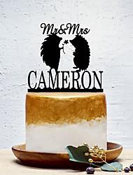 Недорогие -Украшения для торта Классика / Свадьба / Животный принт Забавные пластик Свадьба с 1 pcs Полиэтиленовый пакет