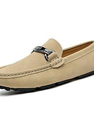 abordables -Homme Chaussures Cuir / Similicuir Printemps / Automne Confort Mocassins et Chaussons+D6148 Noir / Brun Foncé / Kaki