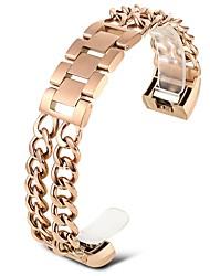 abordables -Acier inoxydable Bracelet de Montre  Sangle Or Rose 20cm / 7.9 Pouces 1.8cm / 0.7 Pouces