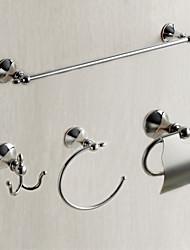 Набор аксессуаров для ванной Держатель для полотенец Кольцо для полотенец Держатель для туалетной бумаги Держатель для ёршика