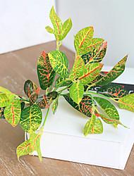 economico -1 ramo 30 cm seta artificiale fiori simulazione pianta verde