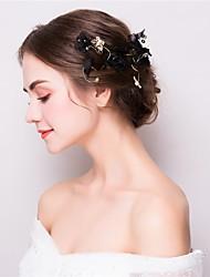 economico -fasce in lega di tulle fiori copricapo stile femminile classico