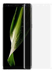 Недорогие -PET Защитная плёнка для экрана для Samsung Galaxy Note 8 Защитная пленка на всё устройство Взрывозащищенный Ультратонкий Защита от
