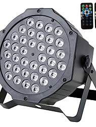 cheap -U'King® 72W 36pcs RGB LEDs Stage Par Light Stage Lighting DMX512 Sound Active for DJ KTV Xmas etc 1pcs