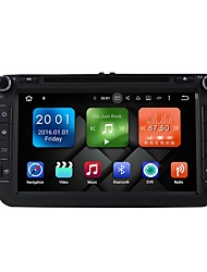 8 Inch Quad Core Android 6.0 Car Multimedia DVD Player Built-in Wifi&3G EX-TV DAB for VW Magotan 2007-2011 Golf 5/6 Caddy Polo V 6R SEAT DY8015-DG