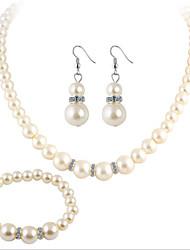cheap -Women's Necklace Rhinestone Imitation Pearl Luxury Elegant Fashion Wedding Party Birthday Engagement Gift Evening Party Valentine Crystal