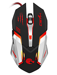 cheap -S100 Wired Gaming Mouse DPI Adjustable Backlit 1200 / 1600 / 2400 / 3200/5500