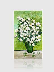 Peint à la main A fleurs/Botanique Classique Un Panneau Toile Peinture à l'huile Hang-peint For Décoration d'intérieur