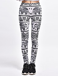 Women's Medium Print Legging,Print