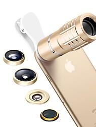 lenti obiettivo della macchina fotografica del senbowe 0.36x lente a macroistruzione 15x lente a macroistruzione lente di telescopio 10x