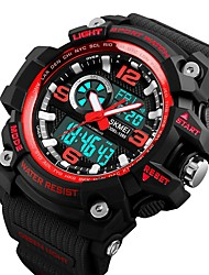 cheap -Smart Watch Water Resistant / Water Proof Long Standby Multifunction Sports Stopwatch Alarm Clock Calendar Dual Time Zones Chronograph No