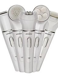 jd-199 handheld design abs material 5 em 1 depilador lavável a água