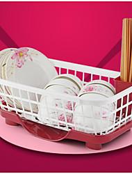 Недорогие -1pc кухонные пластиковые столовые приборы