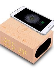 X5 Estilo Mini Toque/ Sem Toque Bluetooth Apresentação da Hora Bluetooth 4.0 AUX 3.5mm USB Altofalante de Estante