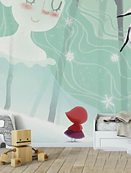 Print Wallpaper For Home Modern Wall Covering , Pure Paper Material Adhesive required Wallpaper , Room Wallcovering