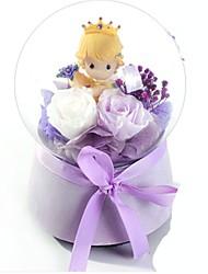 Caixa de música Brinquedos Circular Cristal Peças Unisexo Aniversário Dia dos namorados Dom