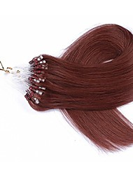 16 18 20 22 extensions de cheveux micro loop ring 50g 100 strand straight remy hair hair micro loop extensions