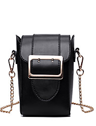 Women Bags All Seasons PU Shoulder Bag for Event/Party Casual Black Milky White Wine