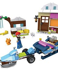 cheap -Building Blocks Toys House Horse Plastics Not Specified Kids Pieces