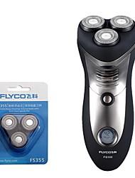 flyco fs356 rasoio elettrico rasoio capo di ricambio 100240v caricamento rapido