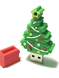 cheap -4GB Christmas USB Flash Drive Cartoon Creative Christmas Tree Christmas Gift USB 2.0