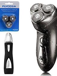 flyco fs350 rasoir électrique rasoir 100-240v tête de rechange pour appareil à nez lavable