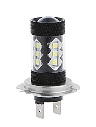 cheap -2PCS Car Original Lighting Pattern 80W LED Headlight Bulb H1 H3 H4 H7 H8 H9 H10 H11 9005 9006