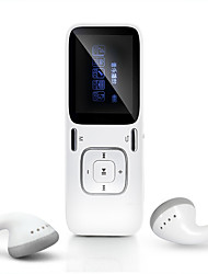 baratos -MP3Player8GB Jack 3.5 mm Cartão TF 32GBdigital music playerBotão