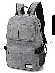 Laptop Backpack Leisure Travel Bag USB  Rechargeable