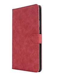 caja de cuero sólida de la PU del patrón del estilo con el soporte para el mediapad t3 8.0 del huawei PC de la tableta de la pulgada
