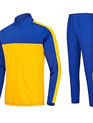 Per uomo T-shirt e pantaloni da corsa Manica lunga Asciugatura rapida Traspirabilità Elastico Set di vestiti per Corsa Esercizi di fitness