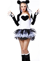 cheap -Mouse Cosplay Costume Halloween Festival / Holiday Halloween Costumes Black Fashion