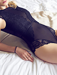 Women's Lace Lingerie Nightwear,Sexy Lace Solid-Thin Acrylic