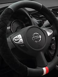 abordables -Protège Volant Pluche 38cm Beige / Gris / Violet For Buick Toutes les Années