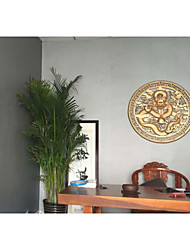 Couleur Pleine Fond d'écran pour la maison Moderne Revêtement , PVC/Vinyl Matériel Ruban Adhésif fond d'écran , Couvre Mur Chambre
