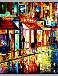 economico -ristorante la sera 100% dipinti a mano dipinti ad olio moderni opere d'arte moderna di arte della parete per la decorazione della camera