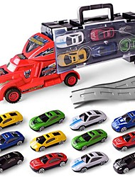 cheap -Toy Cars Vehicle Playsets Model Car Toys Simulation Plastics Metal Alloy Alloy Metal Children's Kids Boys' Pieces