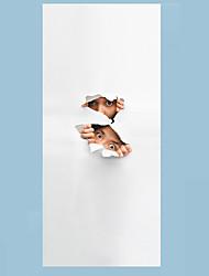 abordables -Célèbre Paysage 3D Stickers muraux Autocollants avion Autocollants muraux 3D Autocollants muraux décoratifs 3D, Papier Décoration