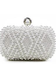 preiswerte -Damen Taschen Seide Abendtasche Perlenstickerei Perlen Verzierung für Hochzeit Veranstaltung / Fest Normal Formal Büro & Karriere Draussen