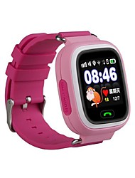 IPS A09G GPS Kids Touch Screen Four Dimension Position SOS Location Finder Kid Anti Lost Monitor Voice  Message Security Fence Smartwatch