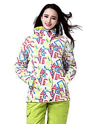 Set di vestiti Terylene Piume Abbigliamento da neve Abbigliamento invernale Sci Campeggio e hiking Sci alpino Snowboard Vestiti invernali