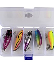 10 pcs Fishing Accessories Set Lure Packs g/Ounce mm inch,Plastic Carbon Steel Sea Fishing Bait Casting Ice Fishing Jigging Fishing Other